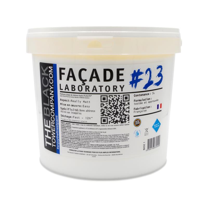 FACADE LABORATORY #23 - Peinture HYDRO Pliolite