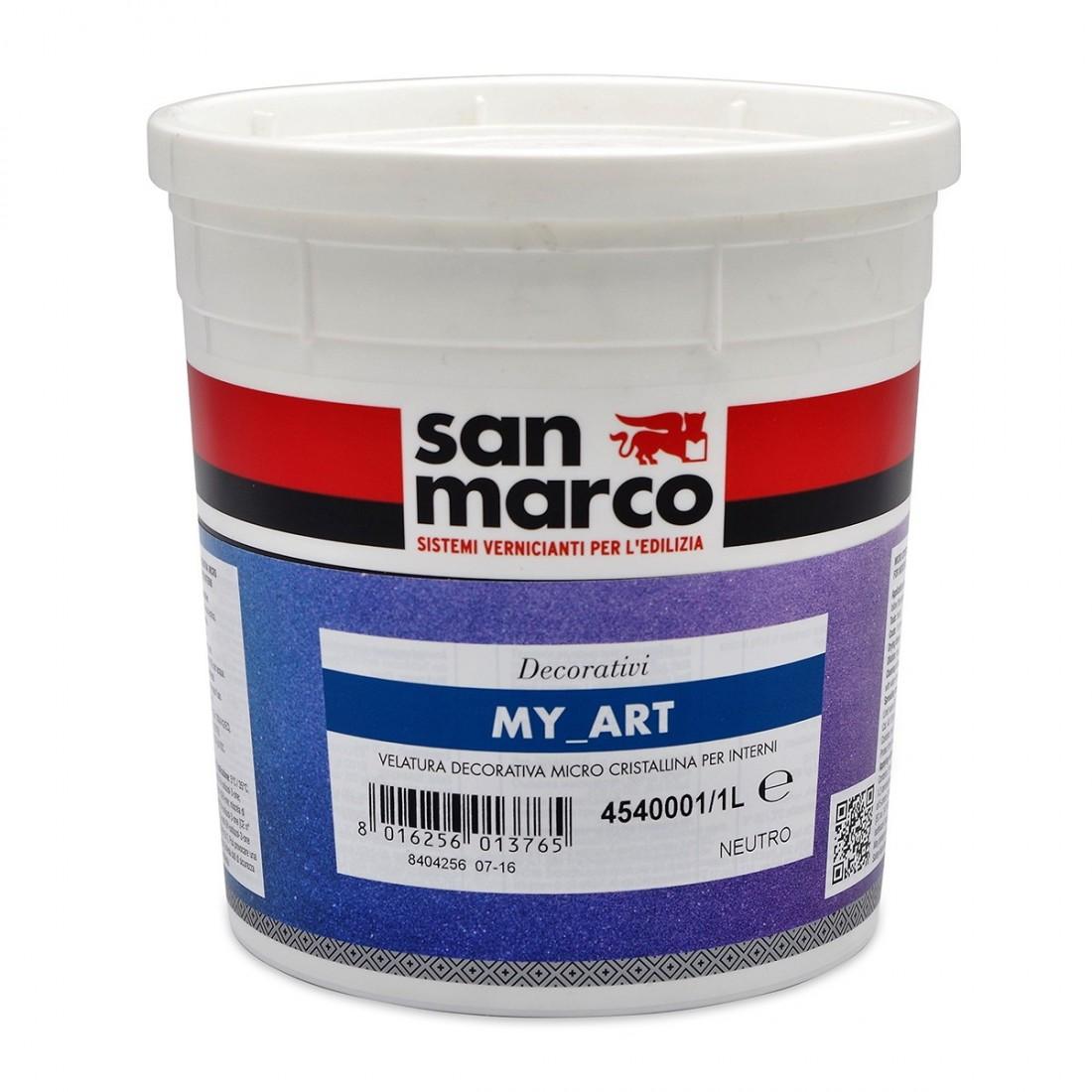 My Art Vernis Professionnel Paillettes D Coration Murale San Marco