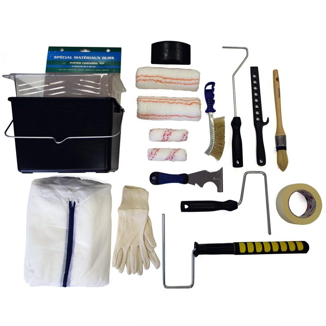 kit mat riel outils de peintre pro pour plafonds en int rieur. Black Bedroom Furniture Sets. Home Design Ideas