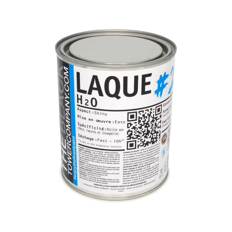 Laque Acrylique Primaire + Finition Microporeuse