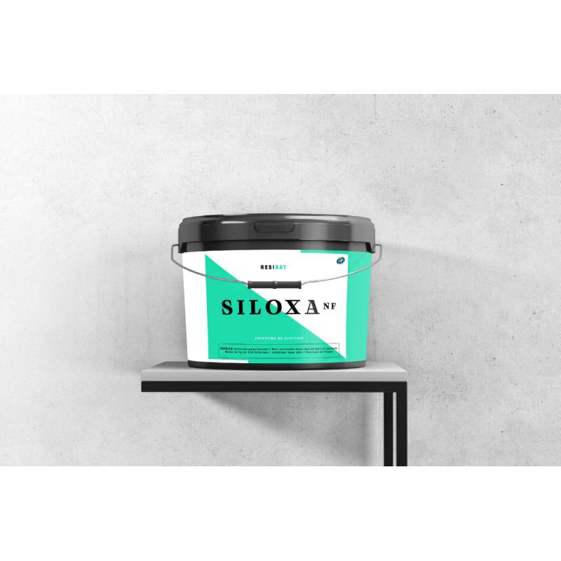 Siloxa NF peinture mat lessivable