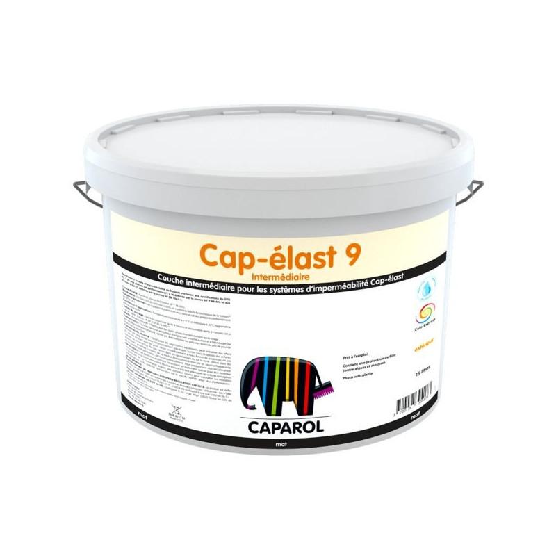Peinture couche intermédiaire système imperméabilité façades CAPAROL