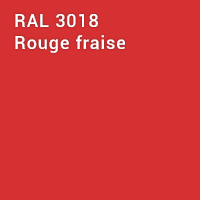 RAL 3018 - Rouge fraise