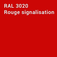 RAL 3020 - Rouge signalisation