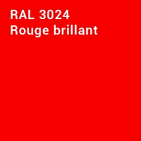 RAL 3024 - Rouge brillant