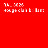 RAL 3026 - Rouge clair brillant