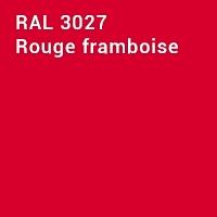 RAL 3027 - Rouge framboise