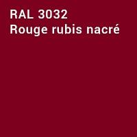 RAL 3032 - Rouge rubis nacré