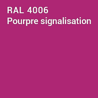 RAL 4006 - Pourpre signalisation