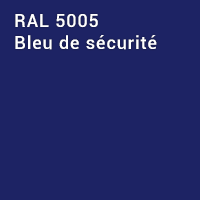 RAL 5005 - Bleu de sécurité