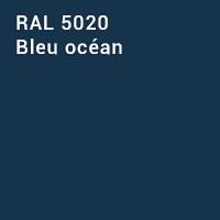 RAL 5020 - Bleu océan