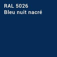 RAL 5026 - Bleu nuit nacré