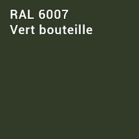 RAL 6007 - Vert bouteille