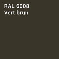 RAL 6008 - Vert brun