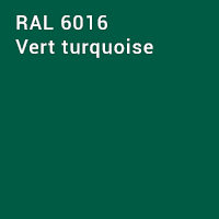 RAL 6016 - Vert turquoise