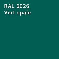 RAL 6026 - Vert opale
