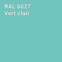 RAL 6027 - Vert clair