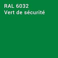 RAL 6032 - Vert de sécurité