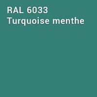 RAL 6033 - Turquoise menthe