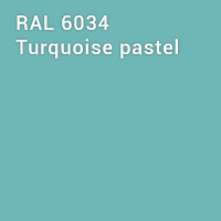 RAL 6034 - Turquoise pastel