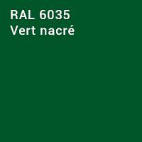 RAL 6035 - Vert nacré
