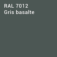 RAL 7012 - Gris basalte