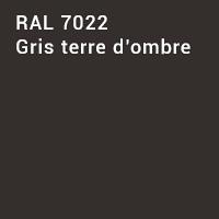 RAL 7022 - Gris terre d'ombre