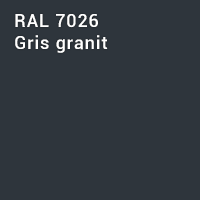RAL 7026 - Gris granit