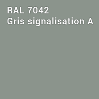 RAL 7042 - Gris signalisation A