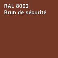 RAL 8002 - Brun de sécurité