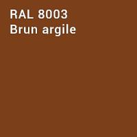 RAL 8003 - Brun argile