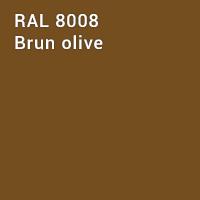 RAL 8008 - Brun olive