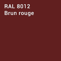 RAL 8012 - Brun rouge