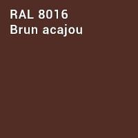 RAL 8016 - Brun acajou