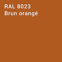 RAL 8023 - Brun orangé