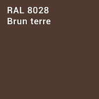 RAL 8028 - Brun terre