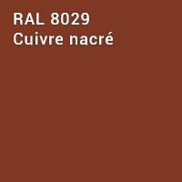 RAL 8029 - Cuivre nacré