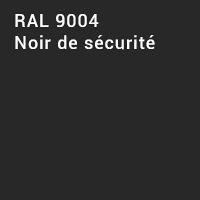 RAL 9004 - Noir de sécurité