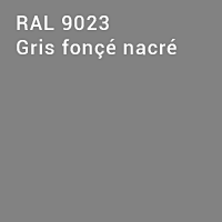 RAL 9023 - Gris fonçé nacré