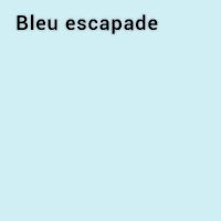 Bleu escapade