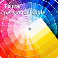 Teinte personnalisable : Ajoutez votre référence teinte (exemple : Vardo® 288 - Farrow & Ball®) à l'étape 3 de votre panier.