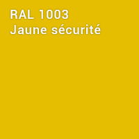 RAL 1003 - Jaune sécurité