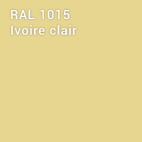 RAL 1015 - Ivoire clair