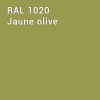 RAL 1020 - Jaune olive