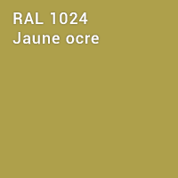 RAL 1024 - Jaune ocre