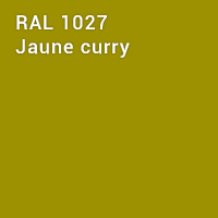 RAL 1027 - Jaune curry