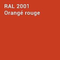 RAL 2001 - Orangé rouge
