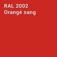 RAL 2002 - Orangé sang