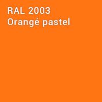 RAL 2003 - Orangé pastel