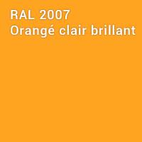 RAL 2007 - Orangé clair brillant